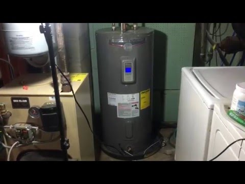 Rheem Performance Platinum 50 Gallon Electric Hot Water Heater-Review