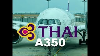 Thai a350 Business Class Singapore to Bangkok