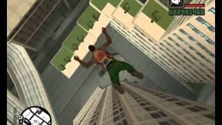 Gta San Andreas Skok z Wieżowca