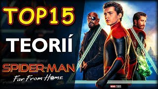 TOP 15 TEORIÍ o Spider Man Far From Home