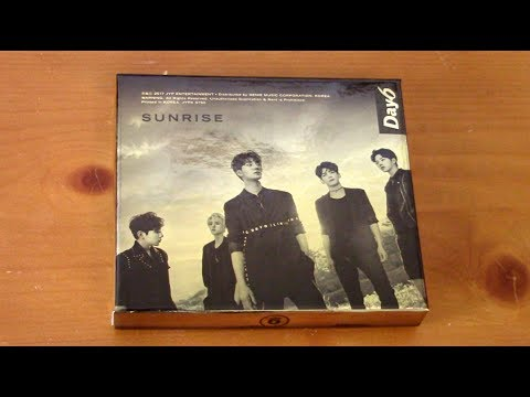 [UNBOXING] DAY6 (데이식스) - 1st Full Album Sunrise