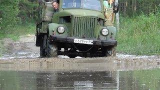 Первые покатушки на ГАЗ-63,доделали тормоза.
