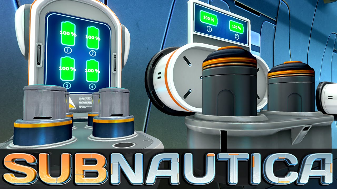 Subnautica Battery Power Cell Charging Station Let S Play Subnautica Gameplay Youtube