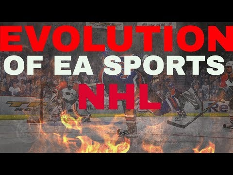 The 10 year evolution of EA sports NHL 18