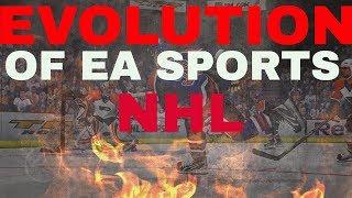 NHL 18 - THE EVOLUTION OF EA SPORTS NHL (History of NHL 08-18)