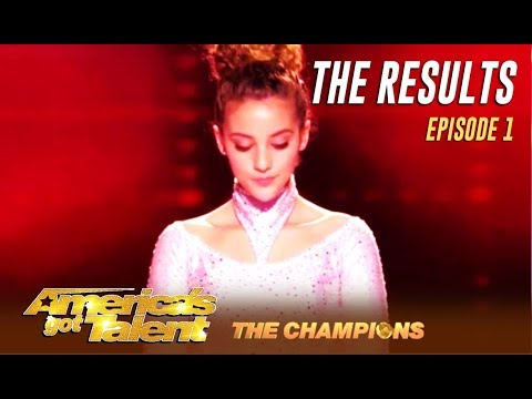 THE RESULTS: Did Your Favorites Make It? | Week 1 | America's Got Talent: Champions