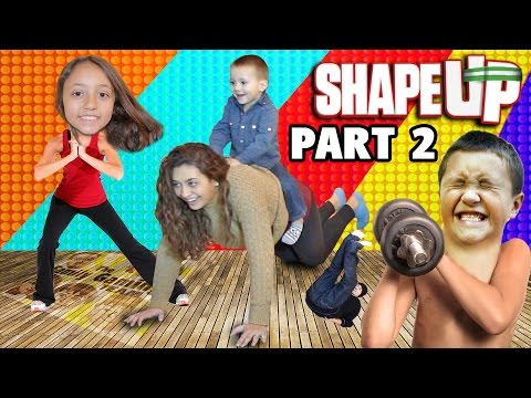 Shape Up pt. 2! Mom Works Out! FGTEEV Fitness Challenge Fun! (Xbox One Face Cam Gameplay)