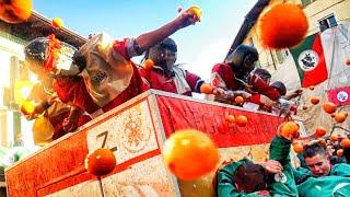 BATTLE OF THE ORANGES 2019 | Battaglia delle Arance | Carnevale Ivrea