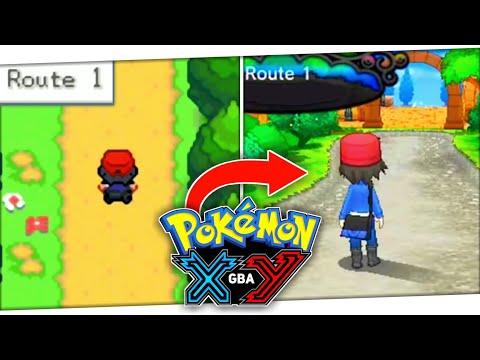 Pokemon XY GBA Update | Pokemon GBA ROM Hack With KALOS REGION | Pokemon Fire XY GBA ROM Hack [2020]