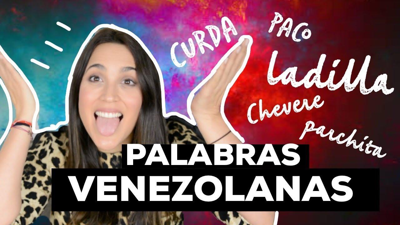 Palabras Venezolanas Diccionario Venezolano