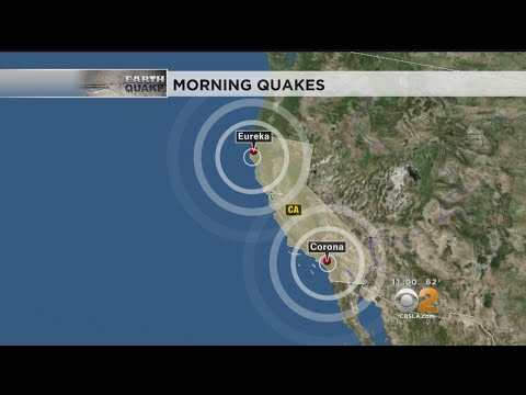 California Struck By 2 Moderate Earthquakes Within Hours Of Each Other