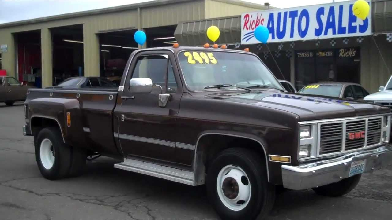 1986 GMC 3500 SOLD!! - YouTube