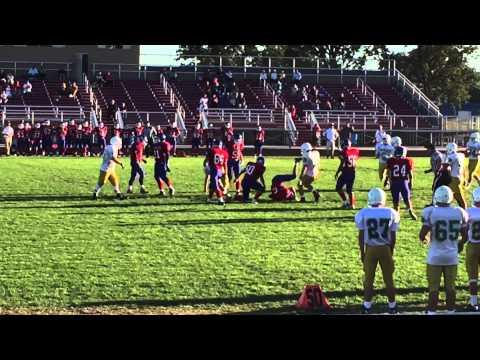 QB sack #97 Providence Catholic @ Marion academy