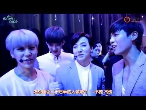 [Eng Sub] Behind the Show 150611 - Boys Republic Cut
