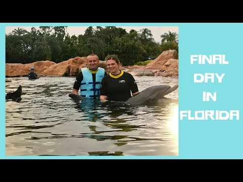 A RELAXING FINAL DAY AT DISCOVERY COVE FLORIDA