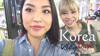 韓国女子旅2日目 (前半)|Korea Vlog Day2 (Part1)