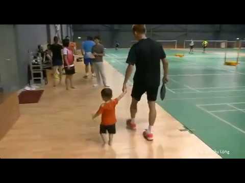 Lee Chong Wei and his Son - Kingston Lee - Super Cute Boy
