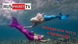 How to make a Mermaid Tail - Interview with Professional Mermaid Kat