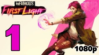 inFAMOUS First Light Walkthrough PART 1 [1080p] No Commentary TRUE-HD QUALITY