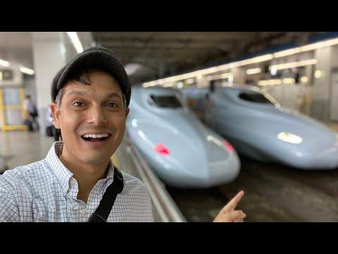 Hakata Station (Fukuoka) & Shinkansen Train Adventure