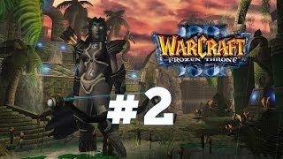 Warcraft 3 Ледяной Трон - Часть 2 - Ужас из глубин - Прохождение кампании Ночные эльфы