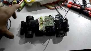 Переделал радиоуправляемую модель на LiIon аккумулятор