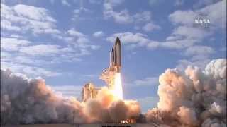 Launch and Return of the Space Shuttle Atlantis