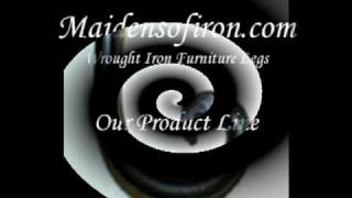 Iron Table Legs By Maidens Of Iron