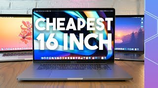 Is the cheapest 16 inch MacBook Pro really