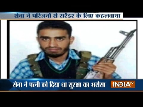 Denied to Surrender, Indian Army Shot-Down Militant in Awantipora Encounter