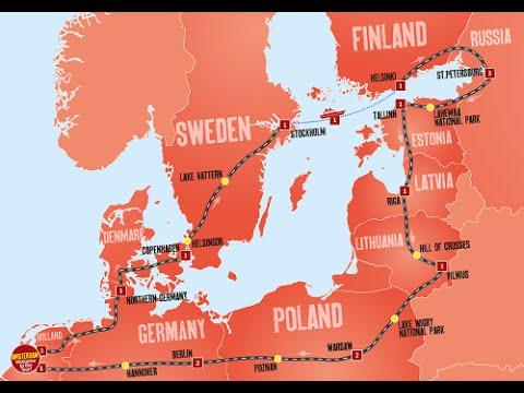 Travelling around Northern Europe in Summer 2016