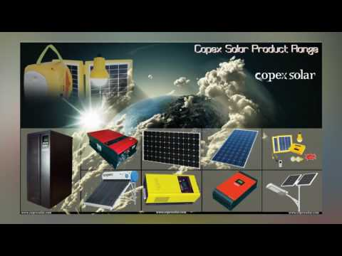 Complete Product Range for Solar Systems | Copex Solar