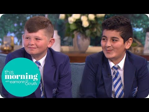 'Educating Greater Manchester' Stars and Best Friends Jack and Rani | This Morning