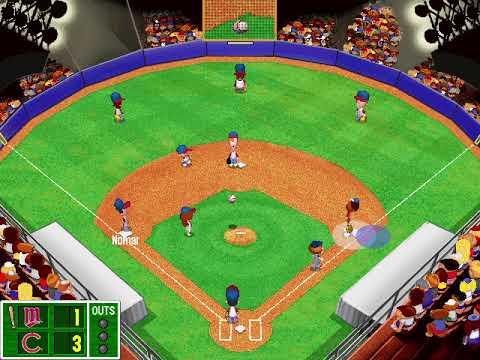 Cubs finally win world series! Backyard Baseball