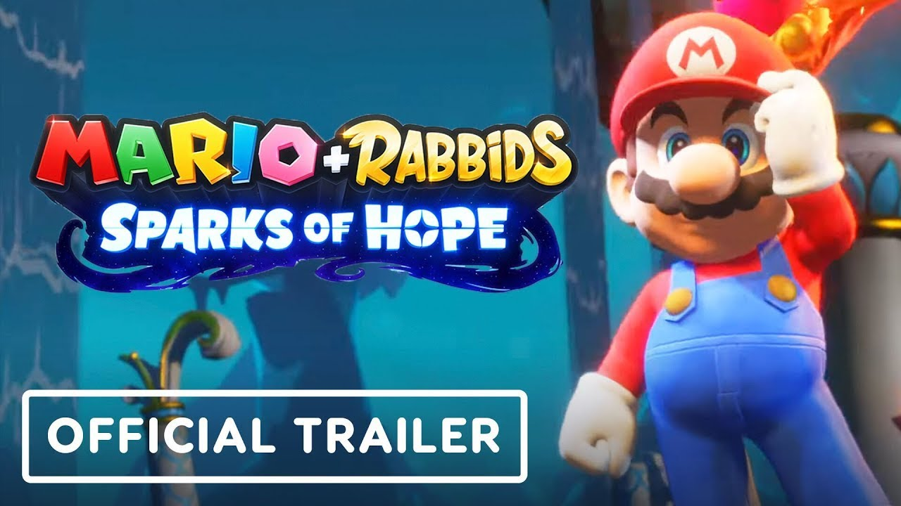 Mario + Rabbids Sparks of Hope - Official Gameplay Teaser Trailer | E3 2021 (Clean Version) - IGN thumbnail