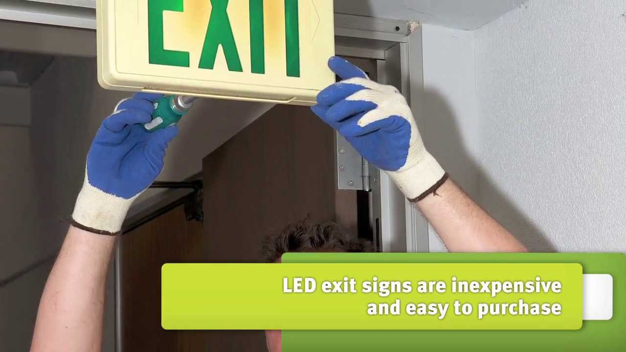 maxresdefault install led exit signs youtube lithonia exit sign wiring diagram at mifinder.co