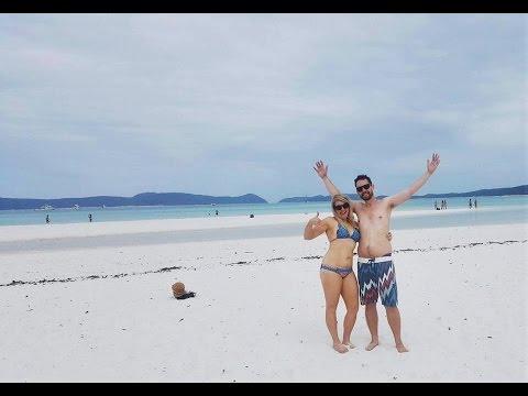 Ash and Dale's Honeymoon vlog. Hamilton Island.