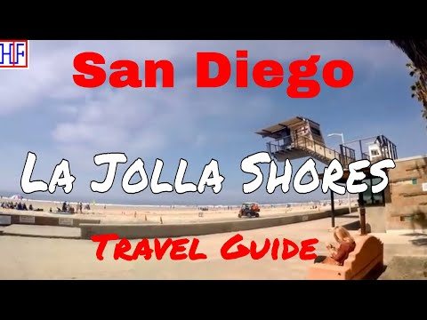 San Diego | La Jolla Shores | Tourist Attractions | Episode# 6
