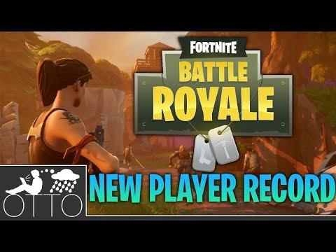 Fortnite Hit 3.4 MILLION CONCURRENT PLAYERS