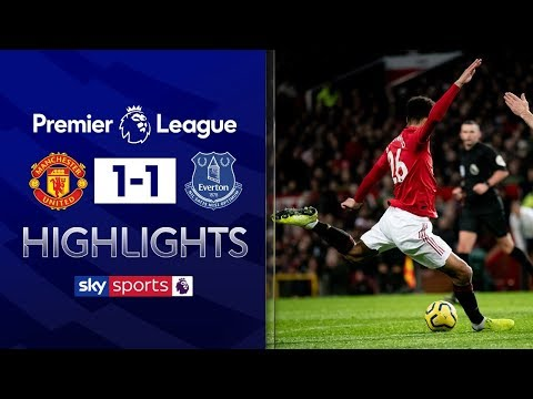 Greenwood goal rescues point for United | Man United 1-1 Everton | Premier League Highlights