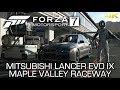 Forza Motorsport 7 (Xbox One X) - 2006 Mitsubishi Lancer Evo IX on Maple Valley Raceway in 4K
