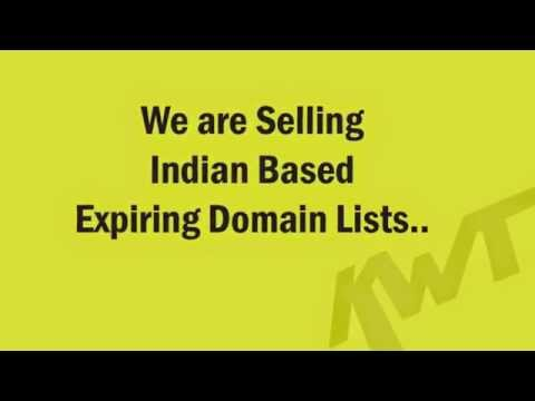 Indian Expired Domain Names List Available