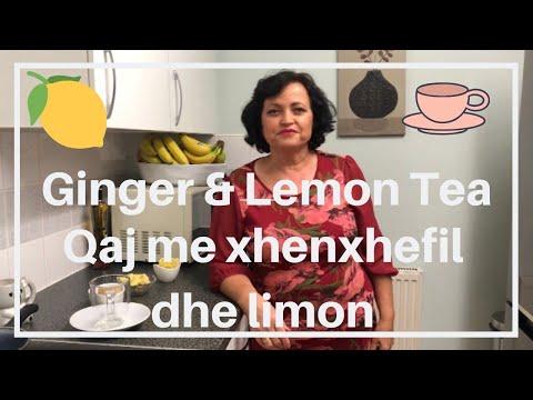 dieta me limon dhe xhenxhefil