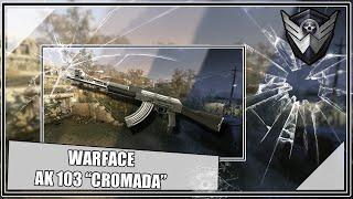 WARFACE - AK 103 METAL  ( CROMADA ). O PAI CLICA MUITO SIM !!