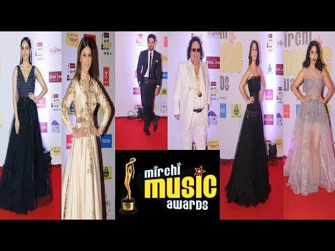 Bollywood celebs spotted at Mirchi Music Awards 2018- Manushi Chillar, Rohit Khandelwal , AR Rehman
