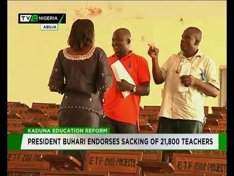 Buhari backs sacking of 21,800 Kaduna teachers
