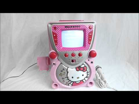 Hello Kitty Karaoke Machine