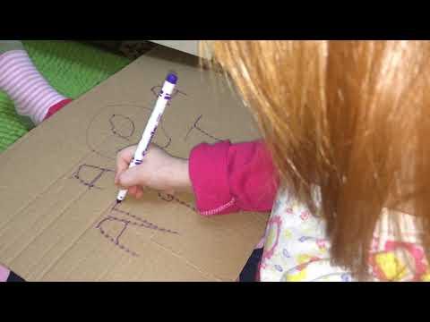 Как пишет ребенок в 5 лет