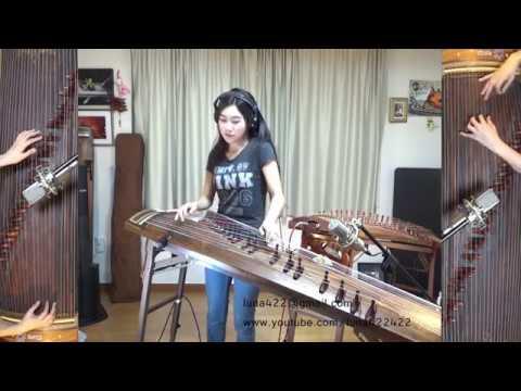 Beatles -While My Guitar Gently Weeps Gayageum ver. by Luna