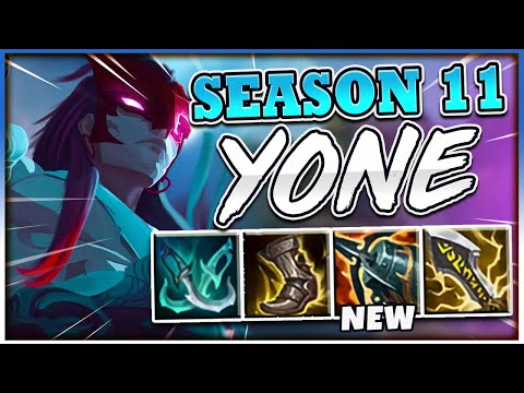 THESE UPDATES MAKE YONE GOD-TIER NOW! NEW SEASON 11 YONE GAMEPLAY! - League of Legends